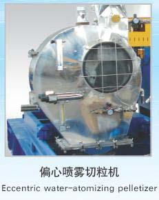 Eccentric Water-atomizing Pelletizer